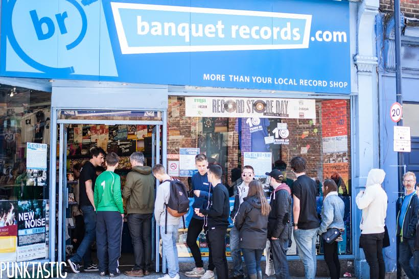 banquet records kingston