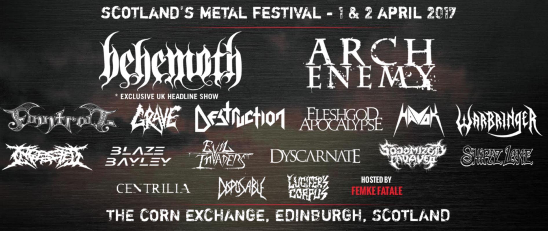 PLAYLIST: Prepare yourself for Heavy Scotland