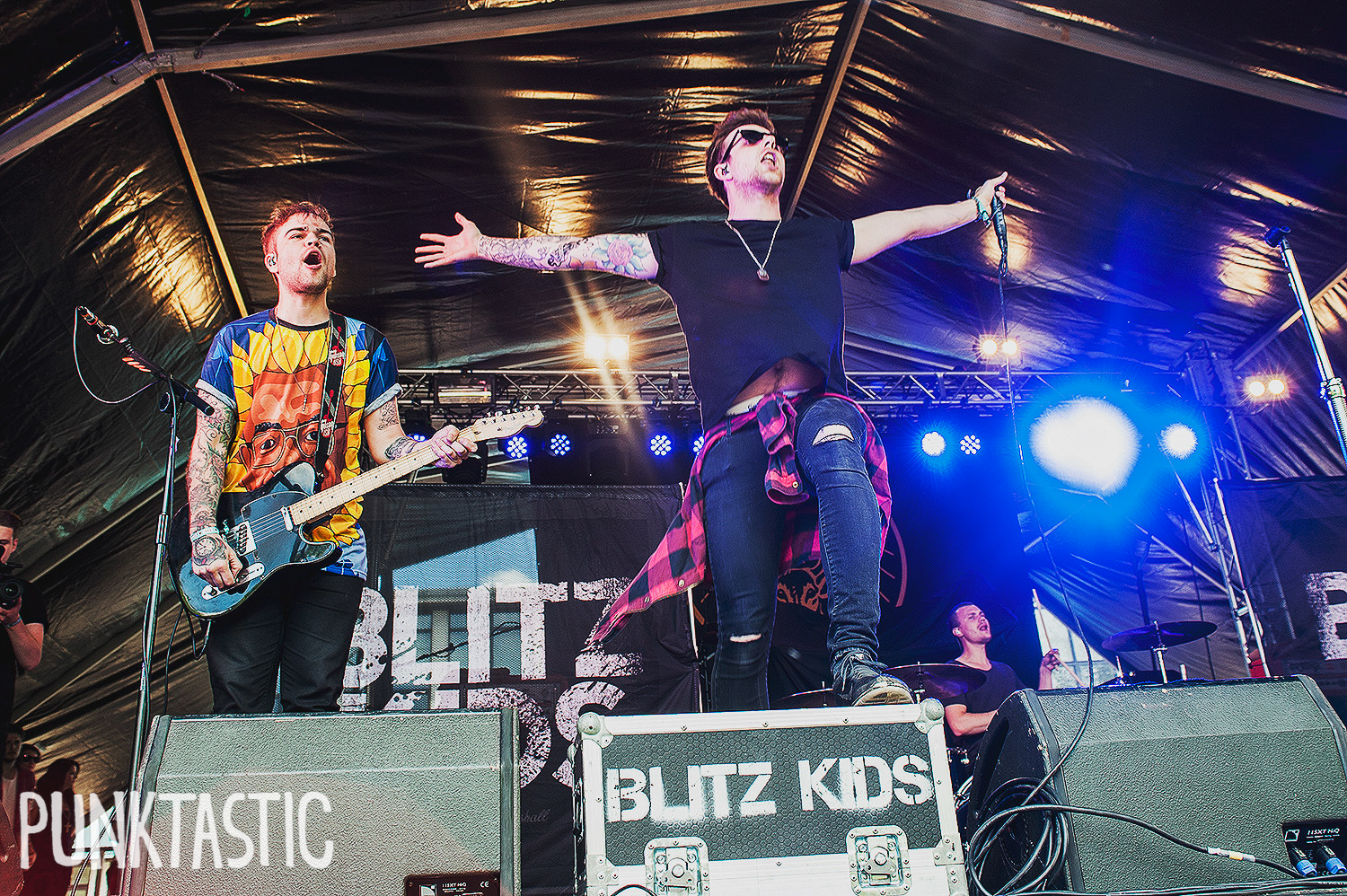 Blitz Kids: Did someone tell Joe he could fly?