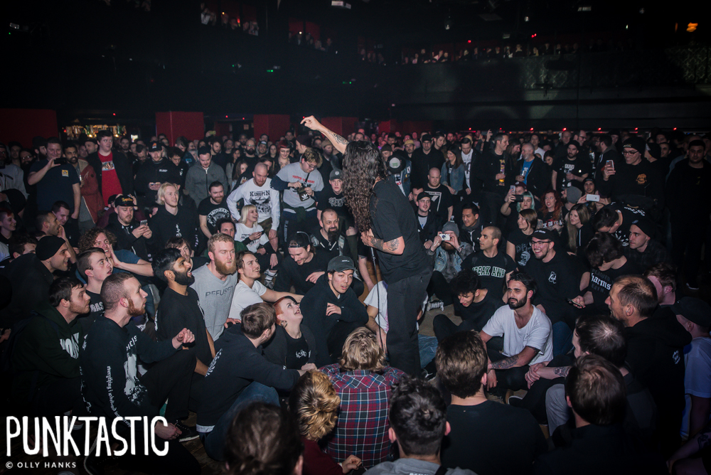 Togetherfest feat: Youth Of Today, American Nightmare, Trash Talk,  Vanishing Life & Wolf Down @ Electric Ballroom, London