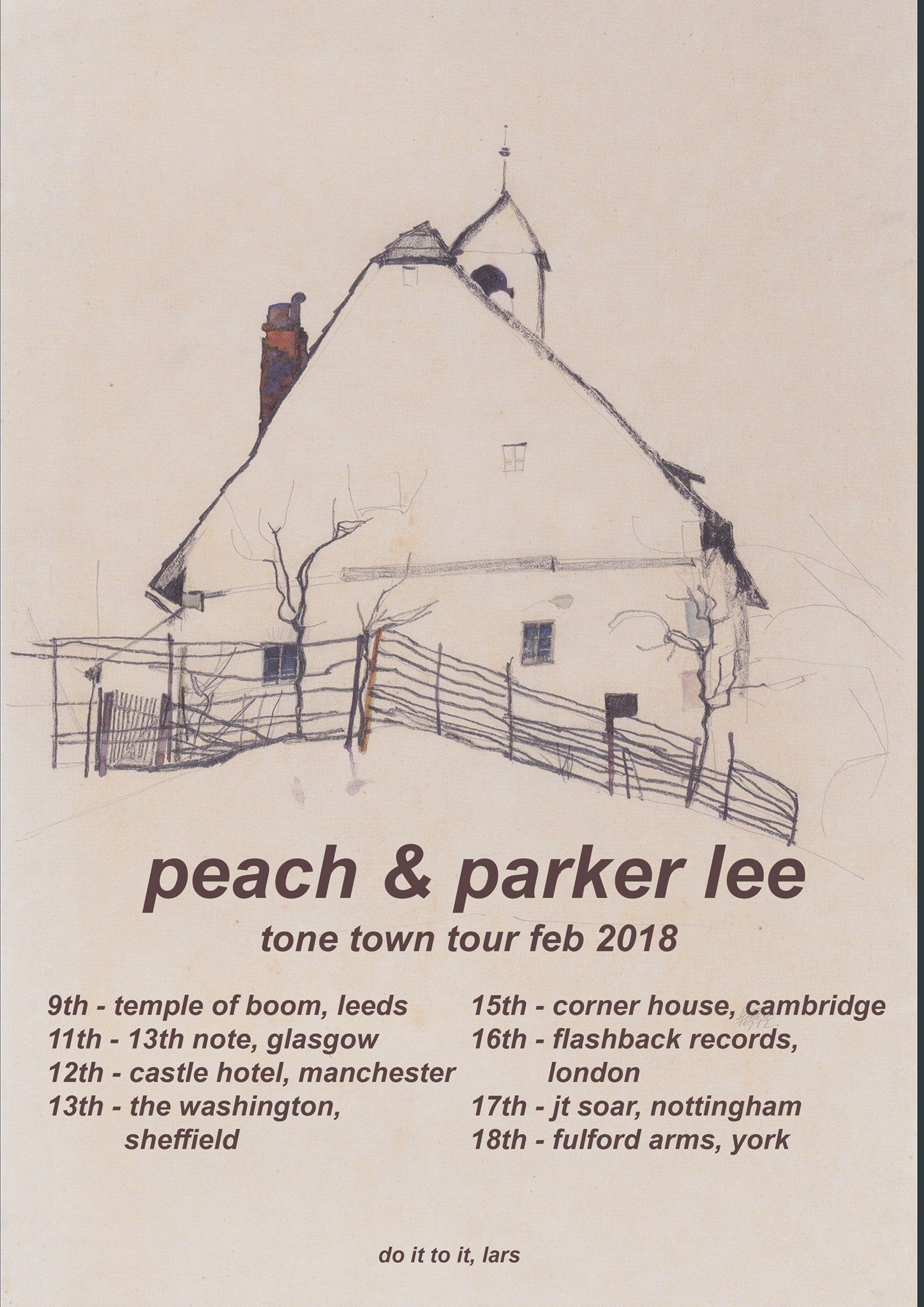 Peach announce UK tour with Parker Lee